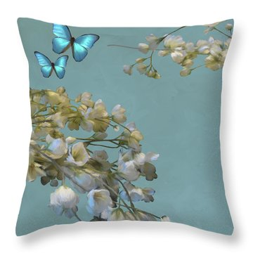 Floral04 Throw Pillow