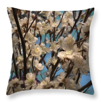 Floral08 Throw Pillow