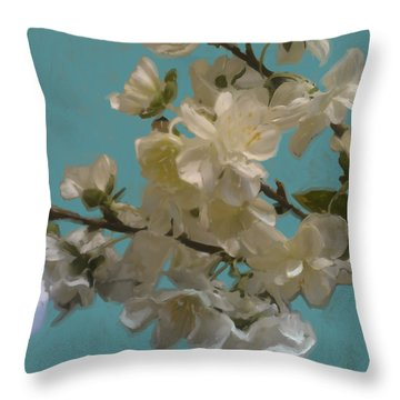 Floral10 Throw Pillow