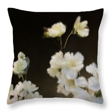 Floral11 Throw Pillow