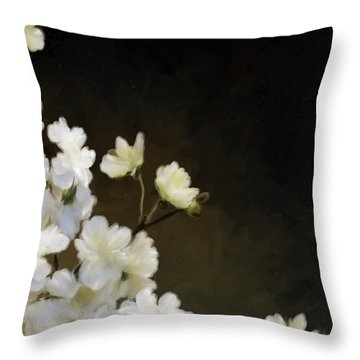 Floral12 Throw Pillow