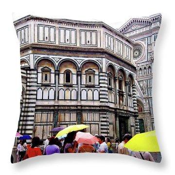 Florence Baptistery Throw Pillow