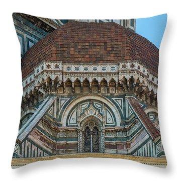 Florence Duomo Architecture Throw Pillow