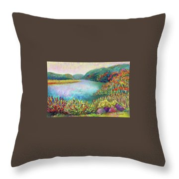 Florence Griswold View Throw Pillow