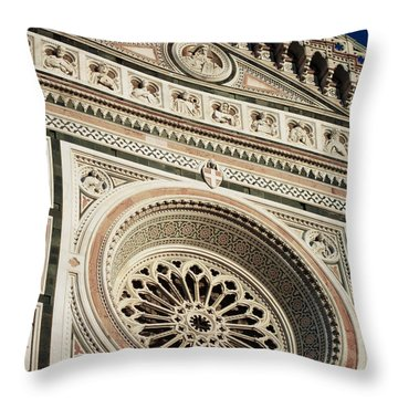 Florence Throw Pillow by Silvia Bruno