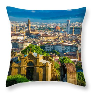 Florentine Vista Throw Pillow