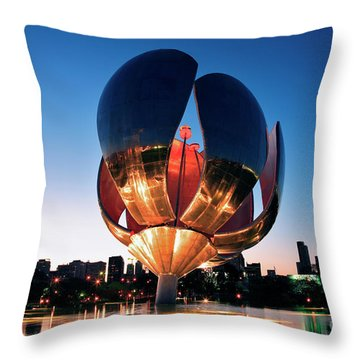 Florialis Generica I Throw Pillow by Bernardo Galmarini