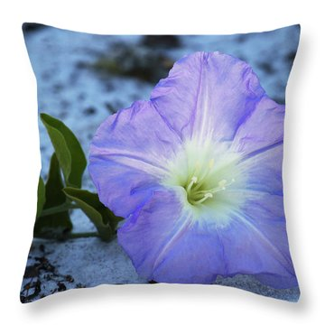 Florida Bonamia Throw Pillow