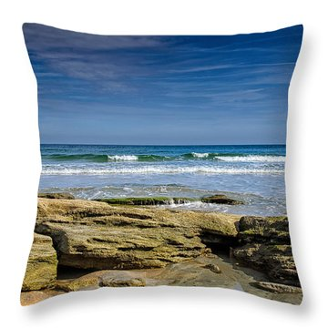 December Morning Throw Pillow