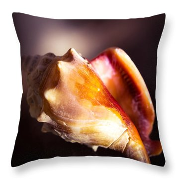 Florida Fighting Conch Throw Pillow