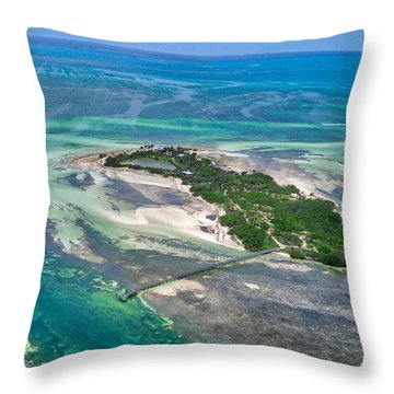 Florida Keys - One Of The Throw Pillow