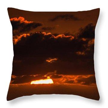 Florida Keys Sunrise Throw Pillow