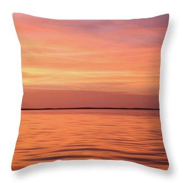 Florida Keys Sunset Impressions Throw Pillow