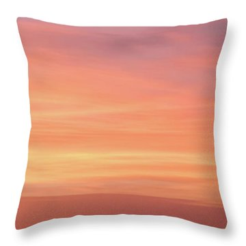 Throw Pillow featuring the photograph Florida Keys Sunset Impressions by Louise Lindsay