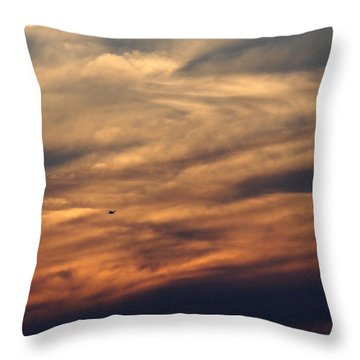 Florida Sunset 0052 Throw Pillow