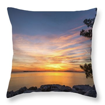 Florida Sunset #3 Throw Pillow