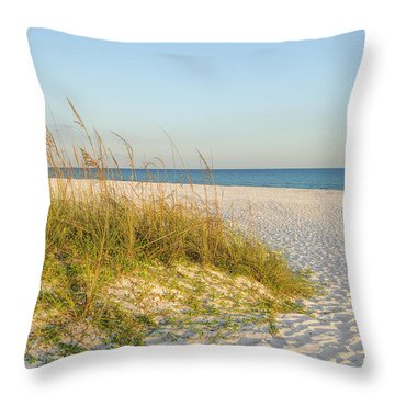 Destin, Florida's Gulf Coast Is Magnificent Throw Pillow