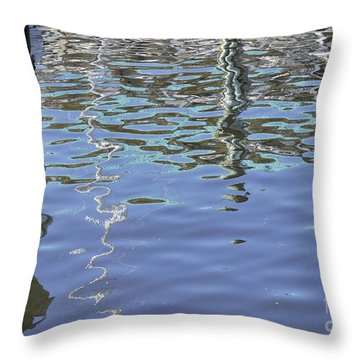Floridian Watermark Throw Pillow