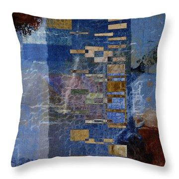 Flotsam Square Format Throw Pillow