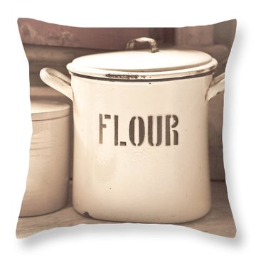 Canned Goods Throw Pillows