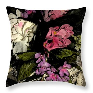 Flourishing Throw Pillow