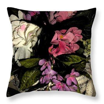 Flourishing Throw Pillow
