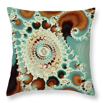 Flow Of Consciousness Throw Pillow