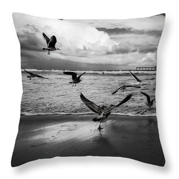 Throw Pillow featuring the photograph Flow by Ryan Weddle