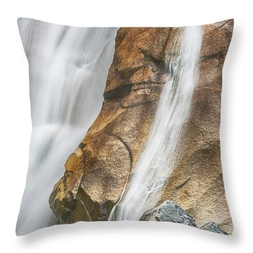 Throw Pillow featuring the photograph Flow by Stephen Stookey