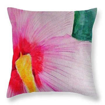 Flower 45 Throw Pillow