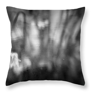 Flower #7421 Throw Pillow