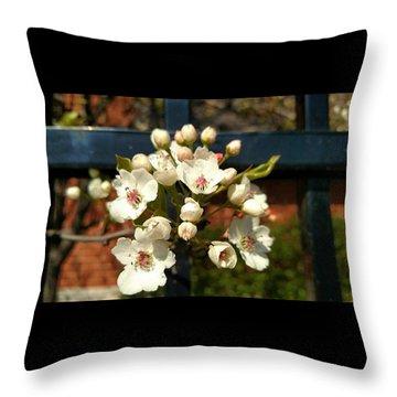 Flower Art Throw Pillow