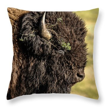 Flower Child Throw Pillow by Monte Stevens