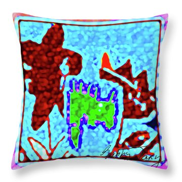 Flower Design #3 Throw Pillow