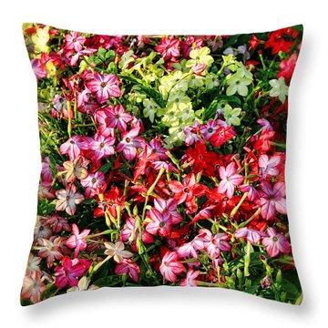 Flower Garden 1 Throw Pillow