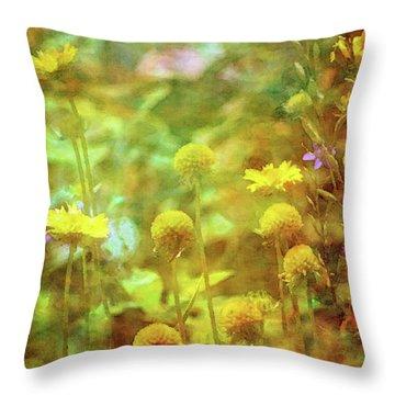 Flower Garden 1310 Idp_2 Throw Pillow