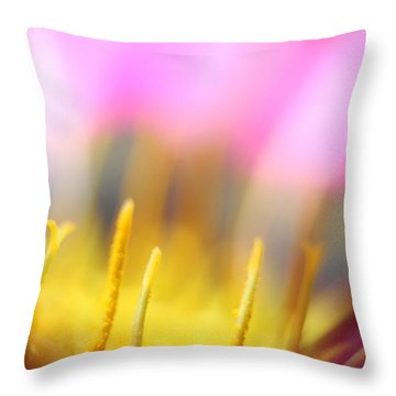 Flower Impressions I Throw Pillow by Martina  Rathgens