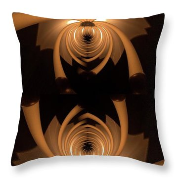 Flower Light Throw Pillow