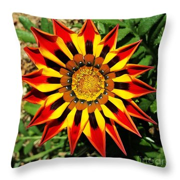 Flower -  Made In Nature Throw Pillow by Jasna Gopic