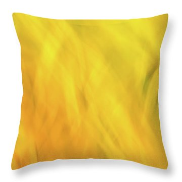 Flower Of Fire 2 Throw Pillow