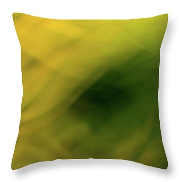 Flower Of Fire 3 Throw Pillow