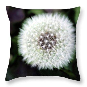 Flower Of Flash Throw Pillow by Mark Ashkenazi