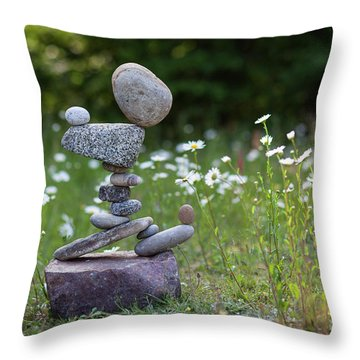Flower Of Love. Throw Pillow