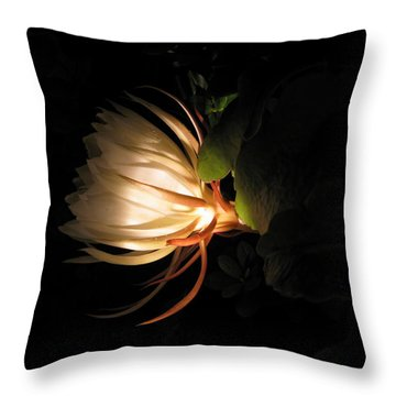 Flower Of The Night 03 Throw Pillow