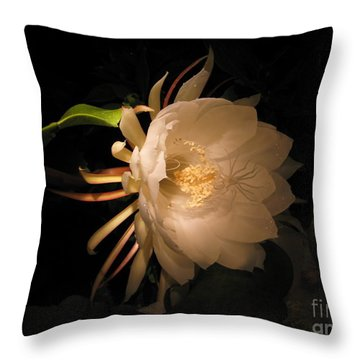 Flower Of The Night 04 Throw Pillow