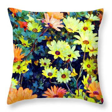 Throw Pillow featuring the photograph Flower Power by Glenn McCarthy Art and Photography