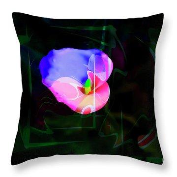 Throw Pillow featuring the photograph Flower Wower by Al Bourassa