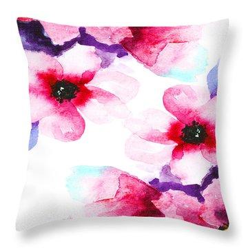 Flowers 04 Throw Pillow
