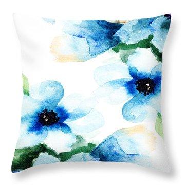 Flowers 06 Throw Pillow