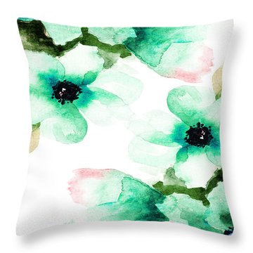 Flowers 07 Throw Pillow